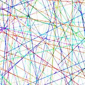 Chaotic Blurred Colorful Lines Pattern Digital Background