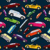 Coloured passenger car, wallpaper, background. n
