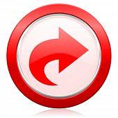 next icon arrow sign