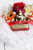 Bouquet Of Beautiful Flowers