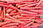 Red indian carrots