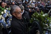 Rev Sharpton mounting wreath