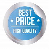 Best Price sales label