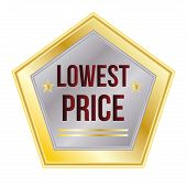 Lowest Price sales label