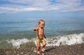 Little Boy Leaves Sea