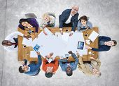 Diversity Casual People Brainstorming Meeting Concept