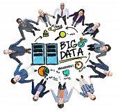 Diversity Business People Big Data Management Teamwork Concept