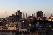 Skyline Of Istanbul From Galata Tower