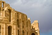 Roman colosseum at El Djem