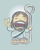 Jesus cartoon f