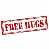 Free Hugs stamp
