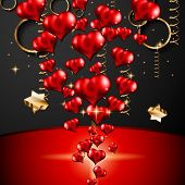 pic of san valentine  - San Valentines Day background for dinner invitations - JPG