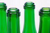 Green bottle necks