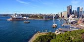 Sydney Harbour & Opera House Panorama From The Bridge.
