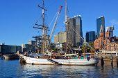 Sailing Ship At Circular Quay, Sydney