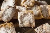 Homemade Powder Sugar Beignets