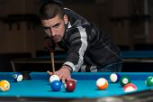 Male Pool Player