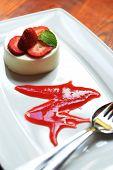 Cream With Strawberries