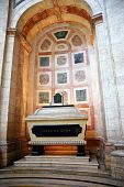 Cenotaph In Inside The Famous National Pantheon In Lisbon