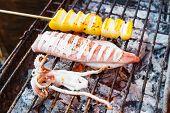 Squid Barbeque