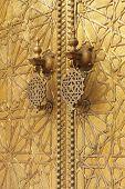 Golden door knockers