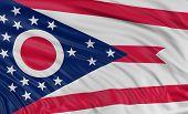 3D Ohio Flag