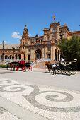 Plaza de Espana, Seville.