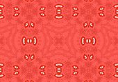 Ethnic Pattern. Abstract Kaleidoscope