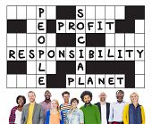picture of ethics  - Social Responsibility Reliability Dependability Ethics Concept - JPG