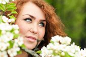 picture of freckle face  - Beautiful red - JPG