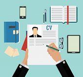 stock photo of recruiting  - Job recruitment - JPG