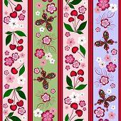 Floral Striped Effortless Pattern