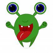 ������, ������: cartoon furry little monster