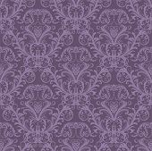 Luxus Purple nahtlose Wallpaper.eps