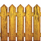 Seamless Picket Fence