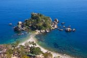 Isola Bella With Intense Blue Sea