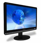 Widescreen LCD display