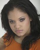 Pretty Young Hispanic Girl