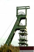 Coal mine headgear tower