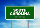 South Carolina Highway Sign