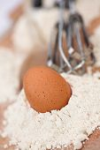 Eggs, Flour & A Whisk...