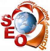 SEO red arrow