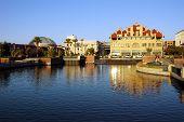 Waterfront Cityscape Reflection