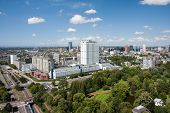 Aerial View Of The Erasmus University Hospital Of Rotterdam,