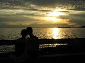 Love In Sunset