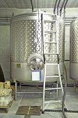 Winery Cellar Steel Vat