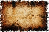 stock photo of treasure map  - old wall texture  - JPG