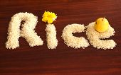 Rice On Teble