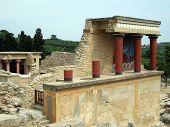 Ruins At Knossos, Crete