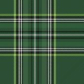 Tartan Stewart Royal  Plaid. Scottish Pattern In Green And Black Cage. Scottish Cage. Traditional Sc poster
